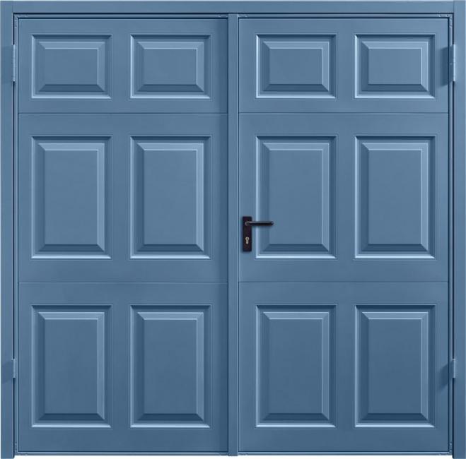 Side Hinged Swing Garage Doors