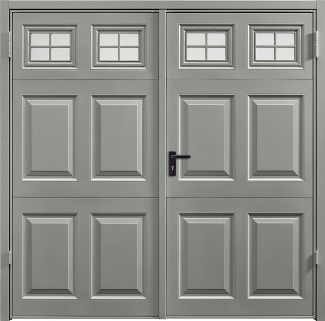 Side Hinged Swing Garages Doors